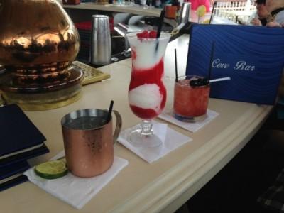 Cove Bar Drinks
