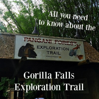 Gorilla Falls Exploration Trail - Entrance