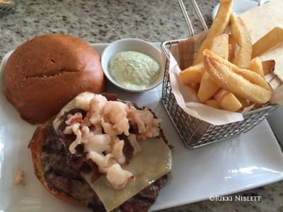 Grand Floridian Cafe Burger