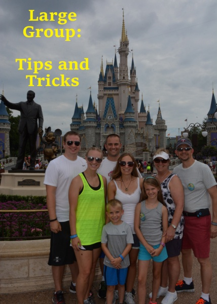 Large Group Tips And Tricks When Traveling To Disney The Mouse For Less Blog