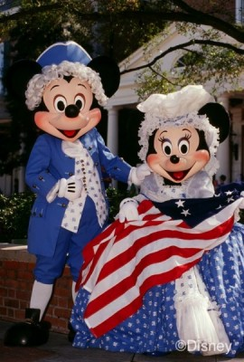 Mickey and Minnie all USA @Disney