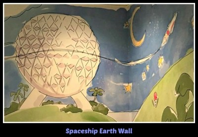 Spaceship earth wall