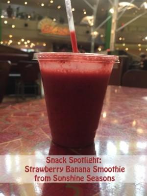 Strawberry Banana Smoothie from Sunshine Seasons