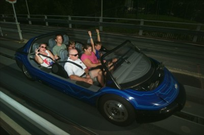 Test Track Fast Section