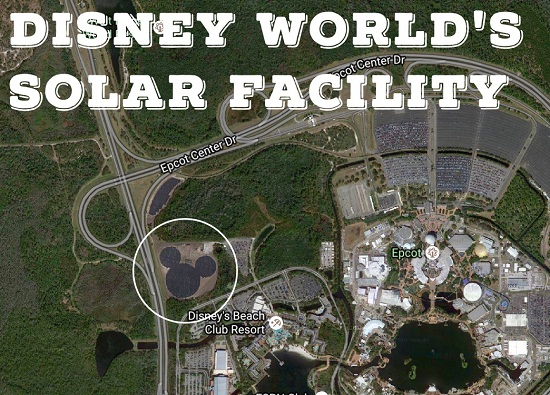 Walt Disney World S Solar Facility