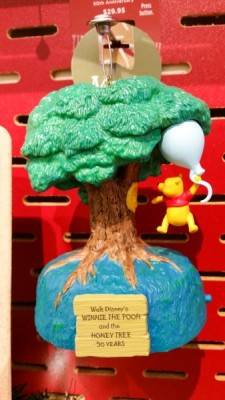 Pooh and the Tree