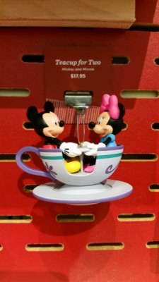 Mickey and Minnie Tea Cup