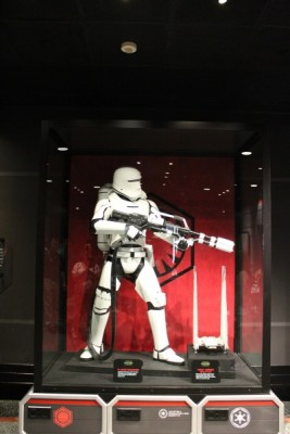 Flametrooper and First Order Shuttle