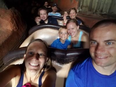 MFL Splash selfie