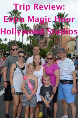 Extra Magic Hours at Hollywood Studios