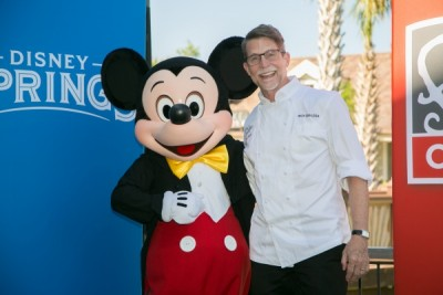 Mickey Mouse & Chef Rick Bayless