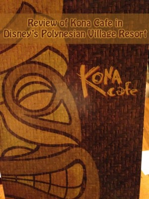 Review of Kona Cafe