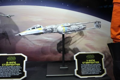 Ship Y Wing Fighter