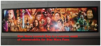 Star Wars Launch Bay Mural