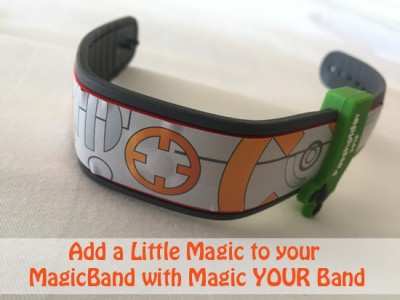 Add a Little Magic to your MagicBand with Magic YOUR Band