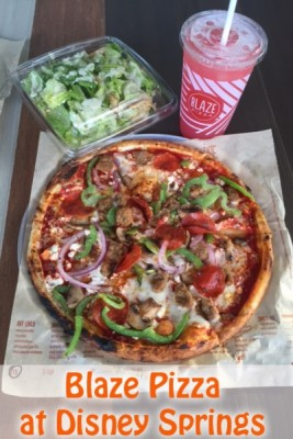 Blaze Pizza at Disney Springs