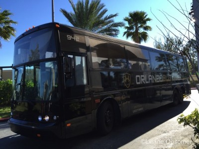 Bus to park from Pointe Hotel