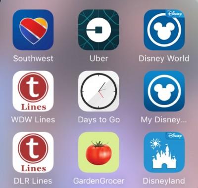Disney apps 1