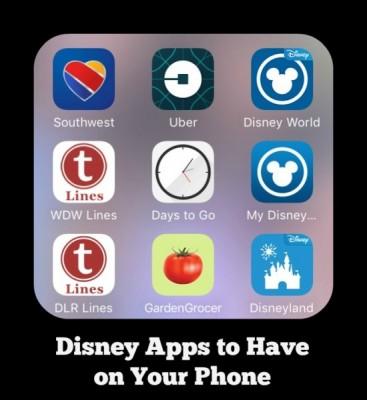 Disney apps Feature