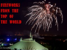Fireworks from the Top of the World Lounge