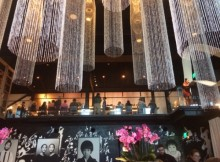 The beautiful interior of Morimoto Asia!