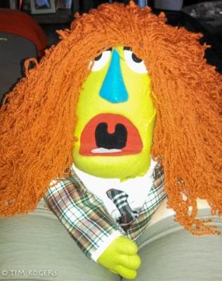 Muppet Wig Model