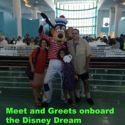 Disney Dream Meet and Greet Opportunities