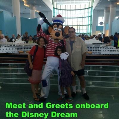 Disney Dream Meet and Greet Opportunities