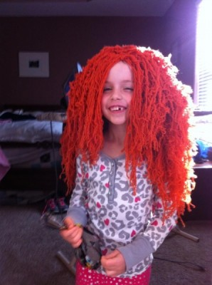 Surprised with a Merida Wig