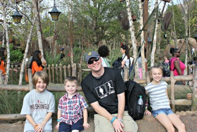 Relaxing in Magic Kingdom 2