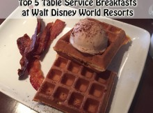 Top 5 Table Service Breakfasts at Walt Disney World Resorts