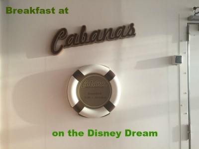 breakfast at Cabanas