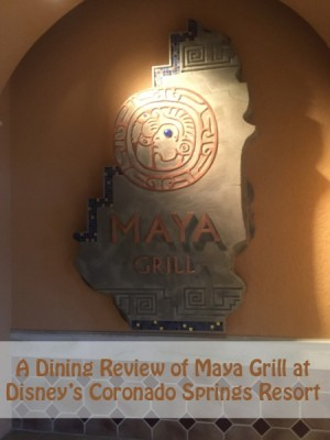A Dining Review of Maya Grill