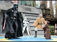 Battling Vader