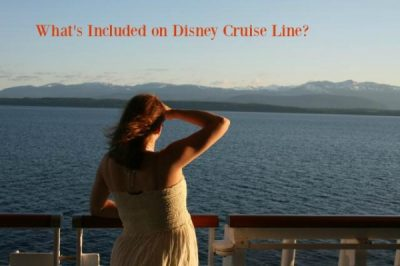 What's Included on Disney Cruise Line