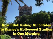 How I Did: Riding All 5 Rides in Disney's Hollywood Studios in One Morning