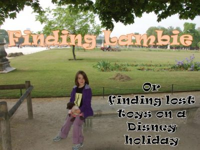 Tips for finding lost toys at WDW