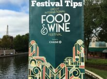 tips epcot's food wine festival