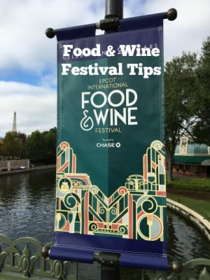 epcot international food wine festival tips