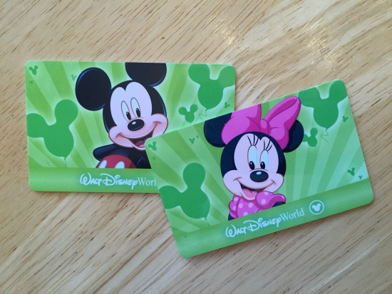 Magic Your Way Plastic Tickets