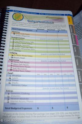 PassPorter's WDW 2016 Budget Worksheet