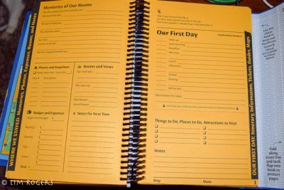 PassPorter's WDW 2016 Personal Day Plans