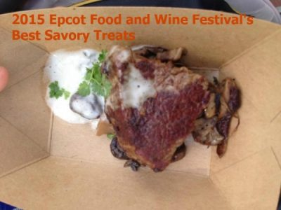 Epcot Food and Wine Festival Savory Treats