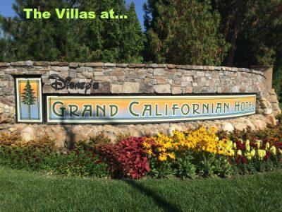 Grand Californian Villas