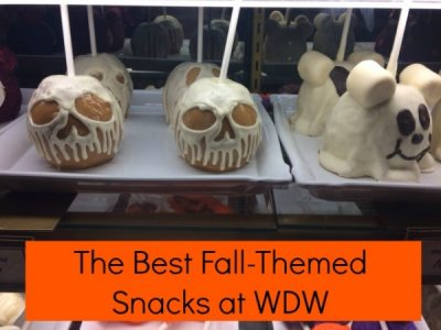 Fall Themed Snacks at Walt Disney World