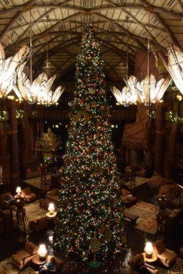 Jambo House Christmas Tree