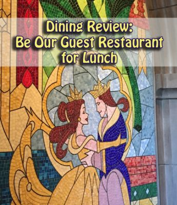 Be Our Guest Restaurant Lunch Review