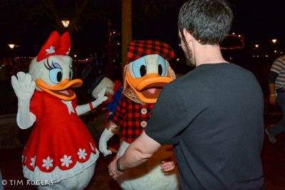 Holiday Donald and Daisy