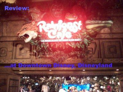 Rainforest Cafe Review