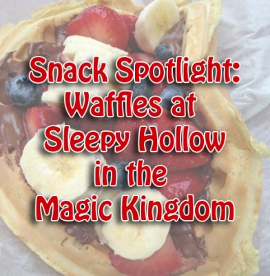 Sleepy Hollow Waffle Sandwiches